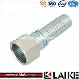 Ajustage de précision de tube hydraulique de Swagelok de portée plate femelle à haute pression d'Orfs