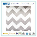 Big grigio Chevron Poly Cotton Fabric per Home Textiles