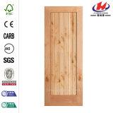 Узловатый ольшаник Pre-Повиснул деревянную дверь