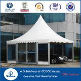 Tente colorée de pagoda pour le Car Show