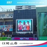 IP65 делают яркость водостотьким самовыравнивания экрана дисплея напольный рекламировать СИД RGB P6