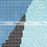 Muurschildering Picure van het Mozaïek van het Glas van het Ontwerp van de douane de Smeltende voor Zwembaden (BGE019)