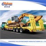 Jiangsu-Lieferanten-Hightech 80 Tonnen-Flachbett-halb Dienstschlußteil