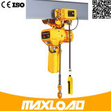 élévateur à chaînes électrique de 380V 50Hz 3phh-B 0.5 tonne avec à deux vitesses