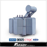 三相11kv 33kv 500kVA Oil Immersed Power Transformer