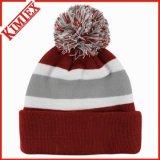 卸売の多彩な編まれた冬の帽子の帽子