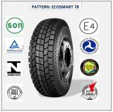 Tous les pneus radiaux en acier de camion et de bus avec le certificat 225/70r19.5 (ECOSMART 12 ECOSMART 78) de CEE