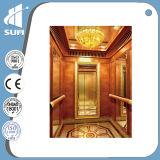 Elevador de lujo del hogar de la decoración de la velocidad 0.4m/S