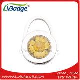 花デザインのFoldable金属袋のハンガー