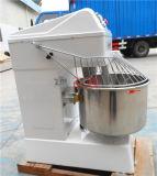 фабрика машины точильщика смесителя стойки теста 20kg 50L спиральн приведенная в действие едой горизонтальная (ZBH-50L)