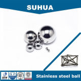 bola de acero inoxidable de la precisión de 20m m G100 304L