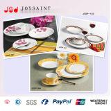 Het Overdrukplaatje van de bloem om het Ceramische Vaatwerk van het Porselein 18PCS