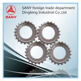 Sanyの掘削機はSanyの油圧掘削機のためのスプロケットを分ける