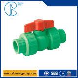 Штуцеры трубы зеленого цвета Pn16 PPR