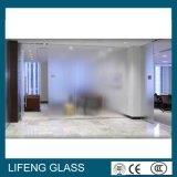 4-12mm заморозили стекло вытравленное кислотой декоративное для Tempered стеклянной стены