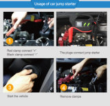 23100mAh Car Jump Start Powerバンク24V PortableマルチFunction Emergency Car Jump StarterのウシT8