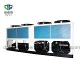 Réfrigérateur de vis refroidi par ventilateur de refroidisseur d'air de la capacité de refroidissement intense