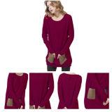 Le donne di Ewsca hanno lavorato a maglia il maglione del cachemire