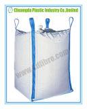 Grande sacchetto enorme di FIBC tessuto pp con 4 cicli blu