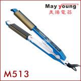 Calefator quente 2 do Sell MCH em 1 Straightener liso do cabelo do encrespador de cabelo do ferro do cabelo