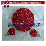 수정같은 손질 (W1009)가 결혼식 훈장 결혼식 꽃다발에 의하여 Diaman Terhine 돌을 던진다