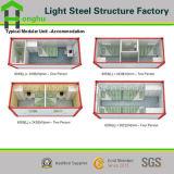 Изготовление дома контейнера спальни стальной структуры 2/временно офис