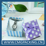 Kundenspezifisches Printed Small Gift Box mit Silk Ribbon (CMG-MAY-005)