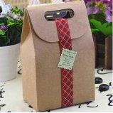 Nahrungsmittelgrad-Kraftpapier-Papiertüten für das Backen-Verpacken