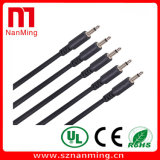 1/8 mini conector macho a macho mono mono cable de audio