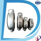 Conector mecânico de borracha feminina para acoplamentos de tubos de aço inoxidável