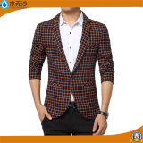 Soem-Form-Marken-Kleidungs-Mann-Plaid-Blazer-Smoking-Blazer