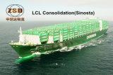Overzeese LCL Vracht van China aan de Lange Zeehaven van het Strand