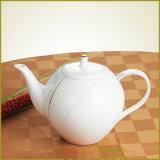 Lignes gravées en relief par vaisselle chinoise avec la piste d'or