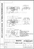 Interruptor eléctrico/interruptor deslizante (MSK-1129)