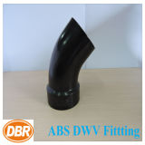 2 pouces Taille ABS Dwv Fitting 1/8 Street Bend