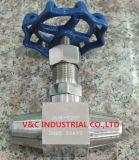 Высокотемпературный высокий игольчатый клапан давления с сваркой в стык