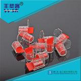 Guangzhou-Fabrik-mechanische Plastiksicherheit Roten mechanische Torsion-Messinstrument-Dichtung, die gedruckt könnte