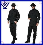 Форма 100% армии холодного черного хлопка камуфлирования воинская (SYSG-242)