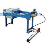 Câmara manual imprensa de filtro X.400 Recessed para a separação contínua e líquida