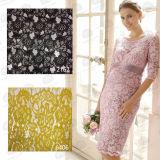 의복 또는 직물 레이스 숙녀 Dress Lace를 위한 형식 면 자수 레이스