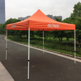 3X3mのオレンジ屋外の鋼鉄によっては望楼の折るテントが現れる