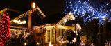 خارجيّة شارع فندق زخرفة [لد] عيد ميلاد المسيح شبكة ضوء