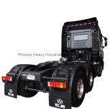 Alto carro de la azotea S100 480HP 6X4 Iveco Trator de Hongyan con el durmiente dos