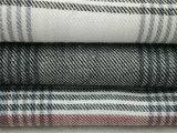tela teñida hilado de la franela 100%Cotton para los pijamas y la ropa de noche
