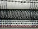 100%Cottonパジャマおよび寝間着のためのヤーンによって染められるフランネルファブリック