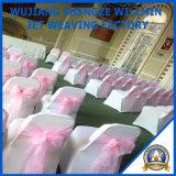 Дешевый стул покрывает орденские ленты стула украшения венчания