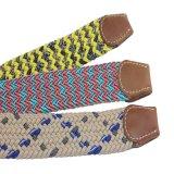 La cinghia Braided elastica di stirata della cinghia del tessuto più popolare