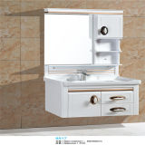 Side Cabinet를 가진 Quality 높은 PVC Wall Mounted Bathroom Vanity