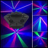 RGBのくも移動ヘッドレーザー光線の段階の照明