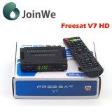 El receptor basado en los satélites más barato de DVB-S2 Freesat V7 HD Digitaces